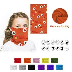 Mesh Breathe Neck Gaiter Face Mask Bandanna for Youth